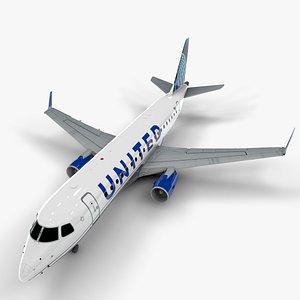 express embraer175 l1307 3D