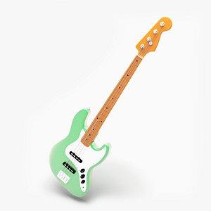 3D Jazz Bass Guitar
