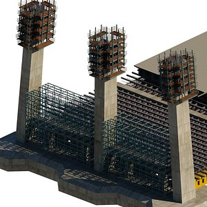 3D construction 3d model
