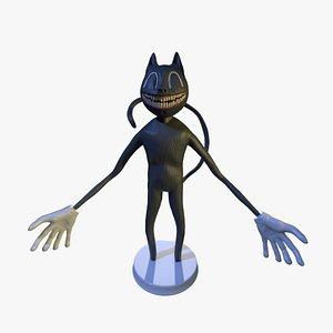 Cartoon cat print 3D model