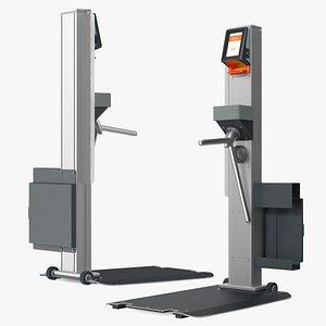 Smart Gate Mobile Pallet 3D model
