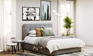 Scene Bardo Bed Meridiani model