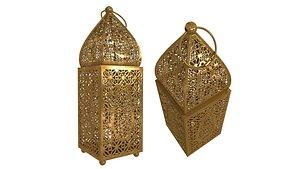 3D moroccan table lantern model