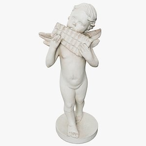 3D statuette angel