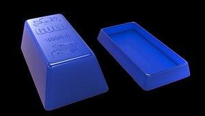 gold box 3D model