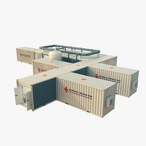 modular hospital model