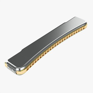3D Octave harmonica model