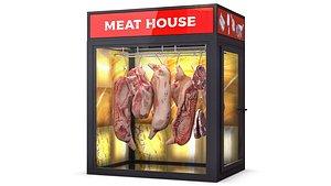 Freezer for Meat 3D model