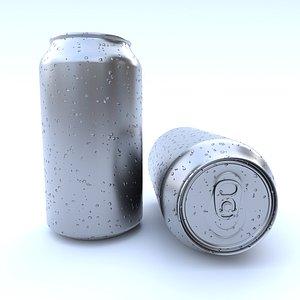 3D beverage 375 ml model