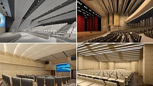 3D lecture room