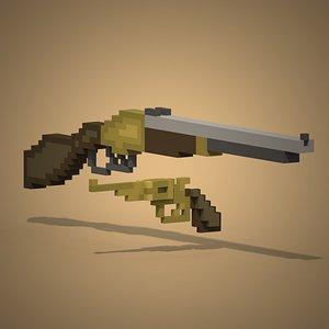 Voxel Guns model