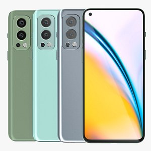 3D OnePlus Nord 2 All Colors