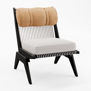 3D Akina Low Lounge Chair