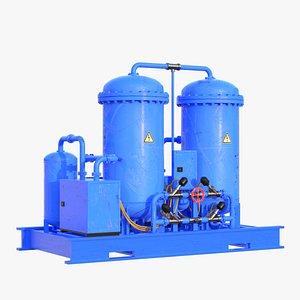 3D model generator oxygen