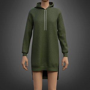 fashion sweater clothing model