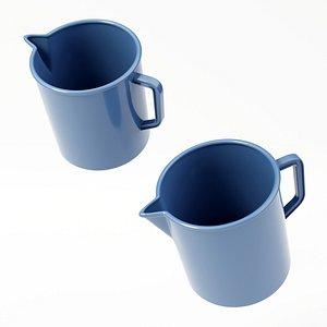 3D bath bathroom mug