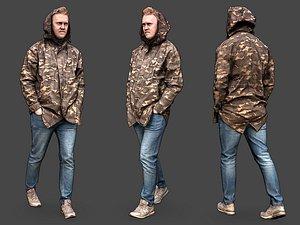 Stylized Man Character 3D