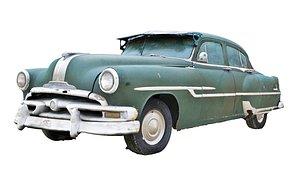 Classic Car Wreck 3D