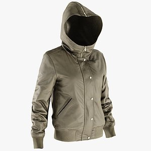 3D realistic women s jacket model