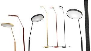Spoon Floor Lamps 3D model