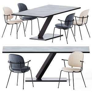 Element Dining Table by Desalto 3D