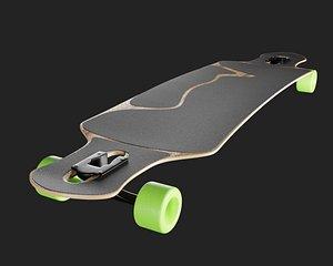 longboard long board 3D model