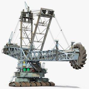 Bagger 293 Bucket Wheel Excavator 3D model