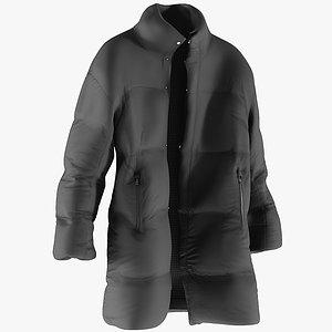 realistic men s jacket 3D model