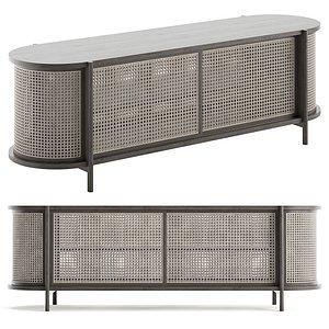 3D Cane Low cabinet 03
