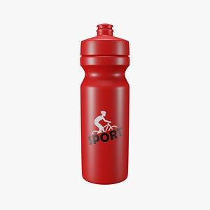 sports bottle 3D