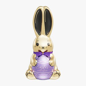 chocolate foil bunny 3D model