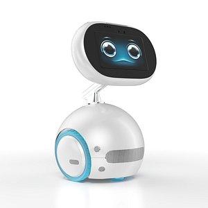 Autonomous self-driving AI assistant robot model