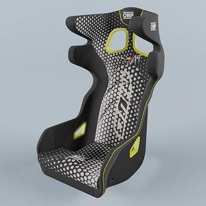 OMP HTE ART Yellow Seat model