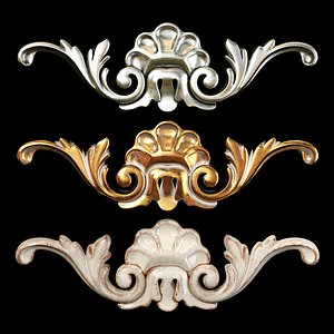 classic carved 3D