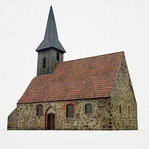 medieval church model