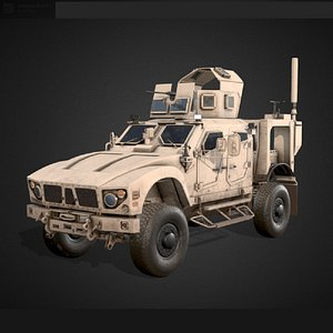 3D oshkosh m-atv model