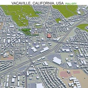 Vacaville California USA 3D model