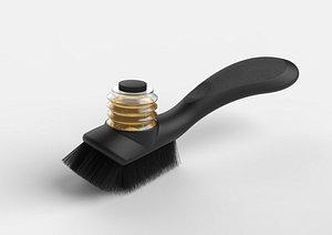 Clean brush 3D model