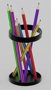 3D pencil model