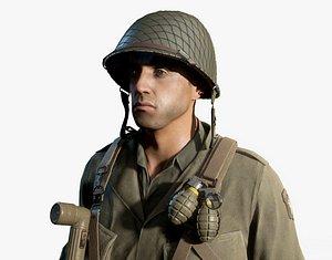 WW2 US Soldier model