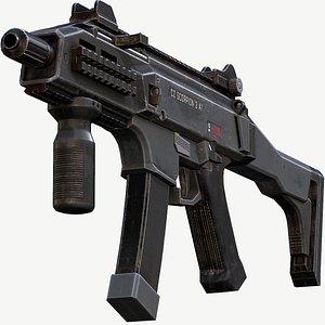 3D Cz Scorpion EVO 3A1 - Mobile Ready Low Poly