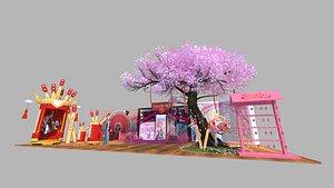 event 3D model