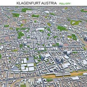3D model Klagenfurt Austria