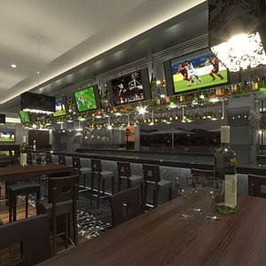 3D Sports Bar