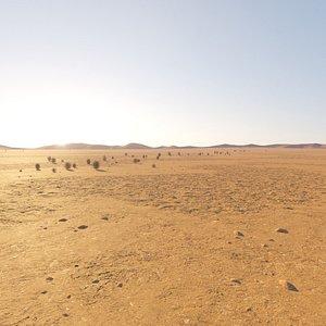 Desert Environment Landscape 3D model