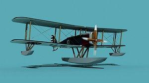 3D Airco DH-4 US Navy Seaplane