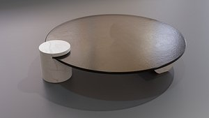 3D Verre Particulier Coffee Table by Baxter model