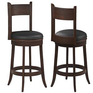 Boraam Palmetto Bar chair 3D model