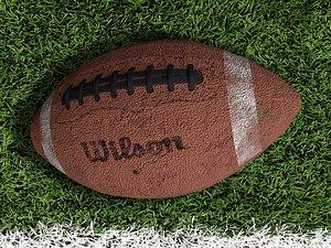 3D model football uv