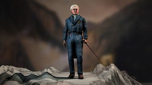 Ioannis Kapodistrias 3D model